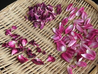 無農薬バラ花弁