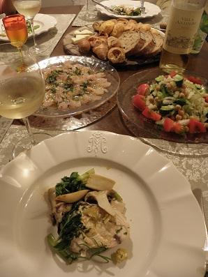 ベランダハーブを使った料理