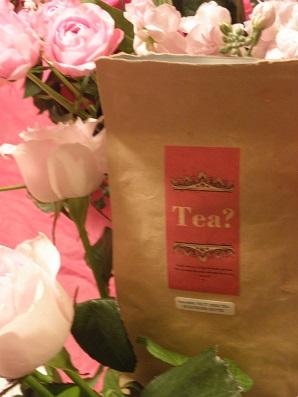 ピンクの紅茶