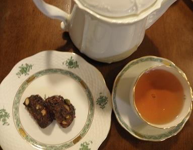 ロンネフェルトのお紅茶とともに