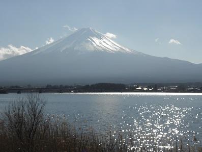ずっと眺めていたい富士山と湖